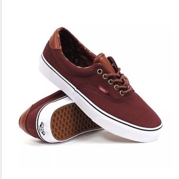 ec7550bde8483b Vans Era 59 C L Bitter Chocolate Classic Shoes